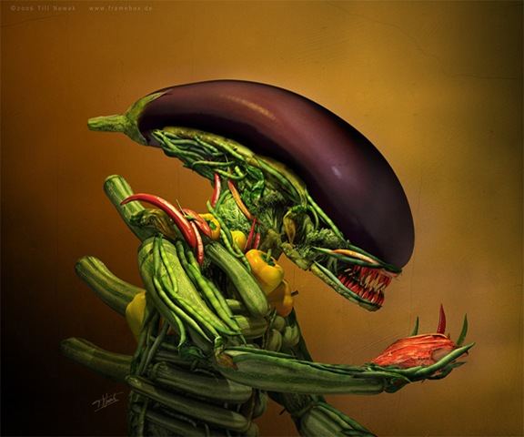 salad alien