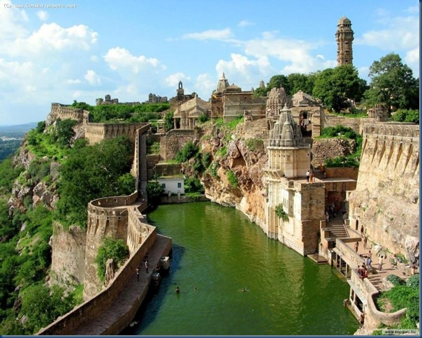 Chittorgarh Fort Pool